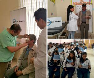 Nens i nenes aconsegueixen llegir després d'una intervenció ocular