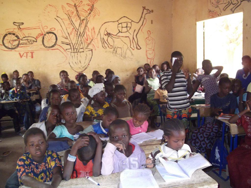 Niños en Mali