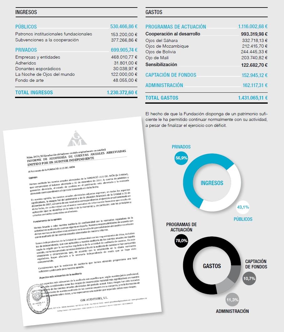 Cuentas anuales del ejercicio 2017