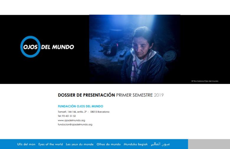 Dossier de presentación. 1r semestre 2019