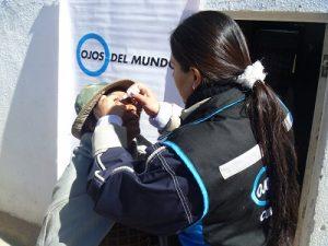 Campanya de prevenció de la ceguesa a Bolívia