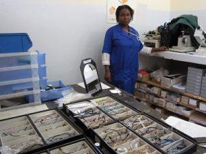 Òptica a Moçambic