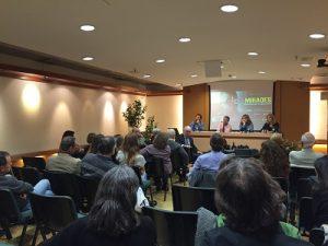 Acte de sensibilització sobre ceguesa evitable a Barcelona