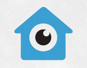 Un ojo dentro de una casa