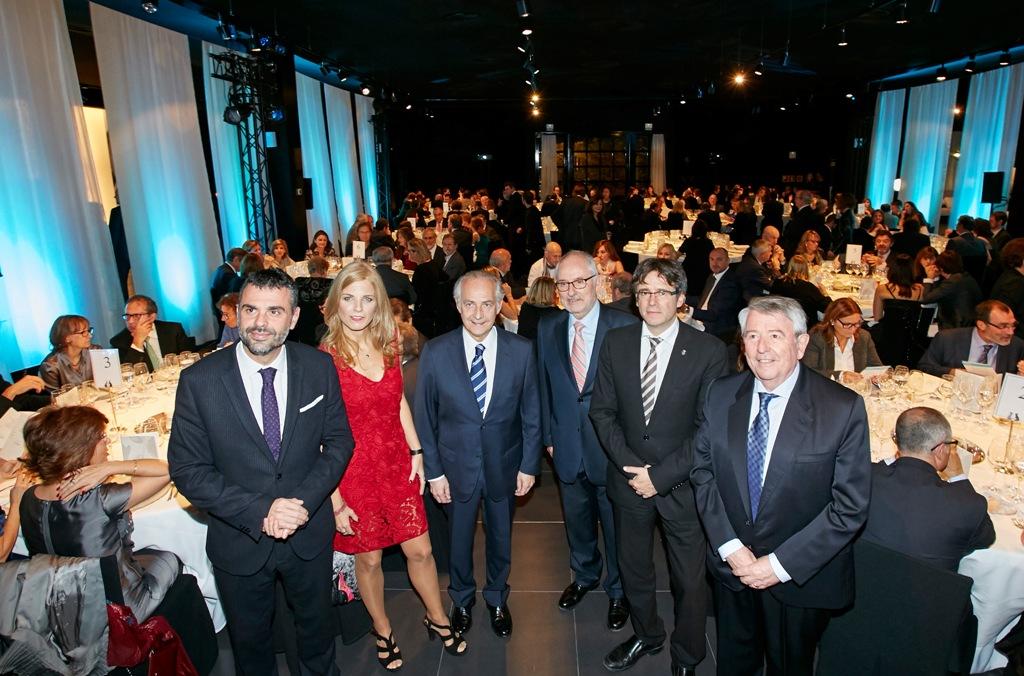 Els assistents a la 13ª nit dels Ulls del món a Girona